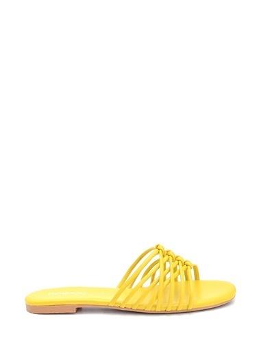Derimod Kadın Terlik (18206) Casual Sarı